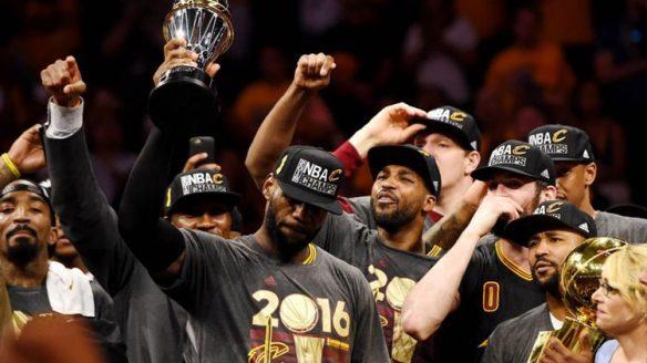 Cavs de Cleveland, campeones de la NBA en 2016
